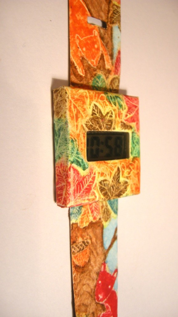 paper watch project