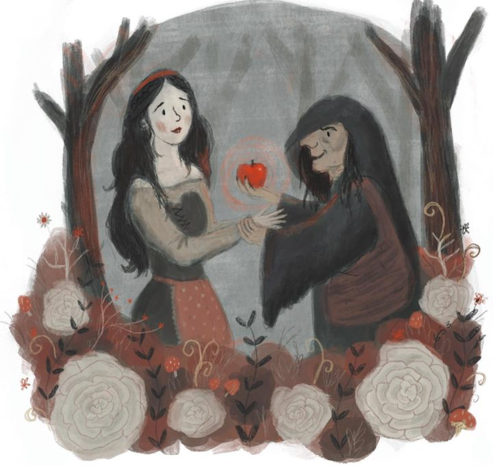 Snow White Folk Tale Week Lucy Dillamore Illustration
