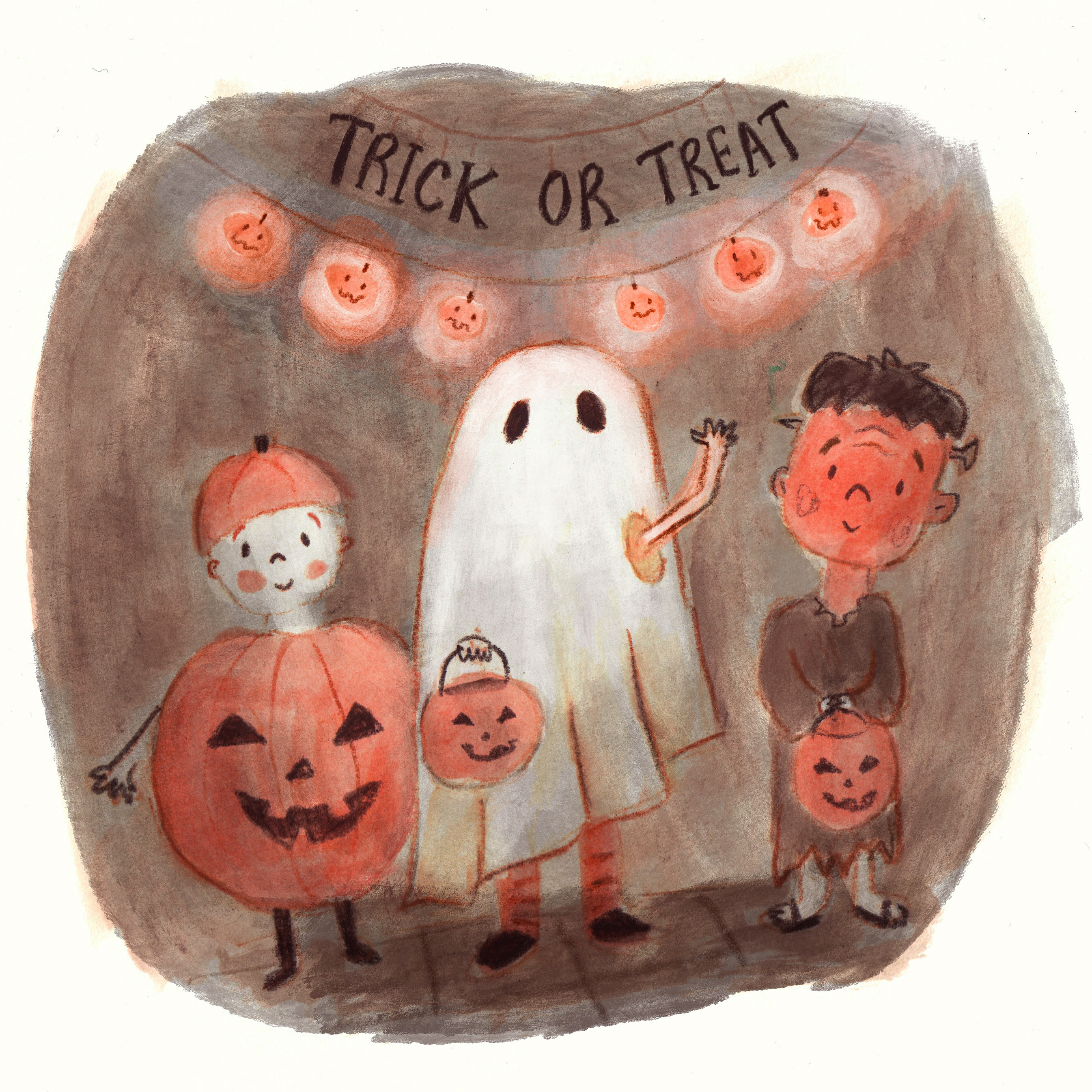 Trick or Treaters Lucy Dillamore