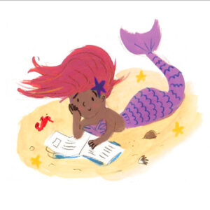 Lucy Dillamore Mermaid Reading