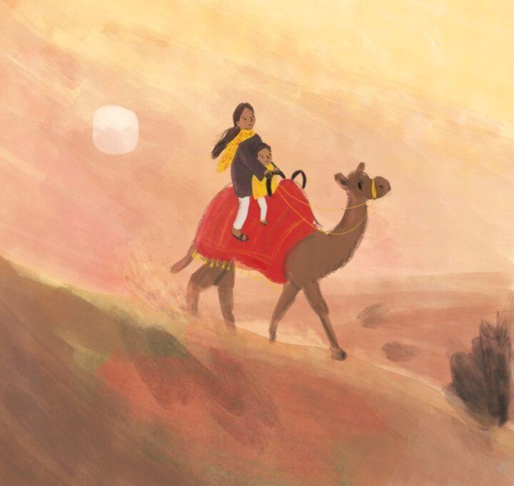 Desert Sunset Lucy Dillamore