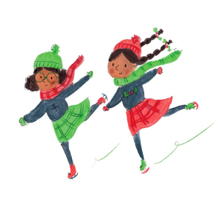 Lucy Dillamore Ice Skaters 2020