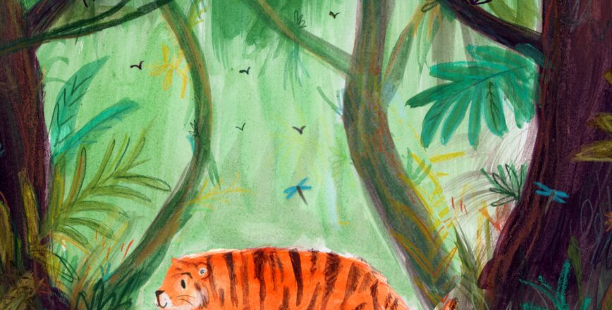 Lucy Dillamore Tiger Jungle