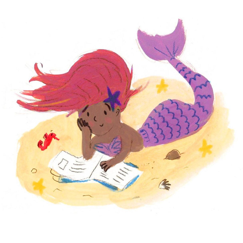 Lucy Dillamore Mermaid Reading